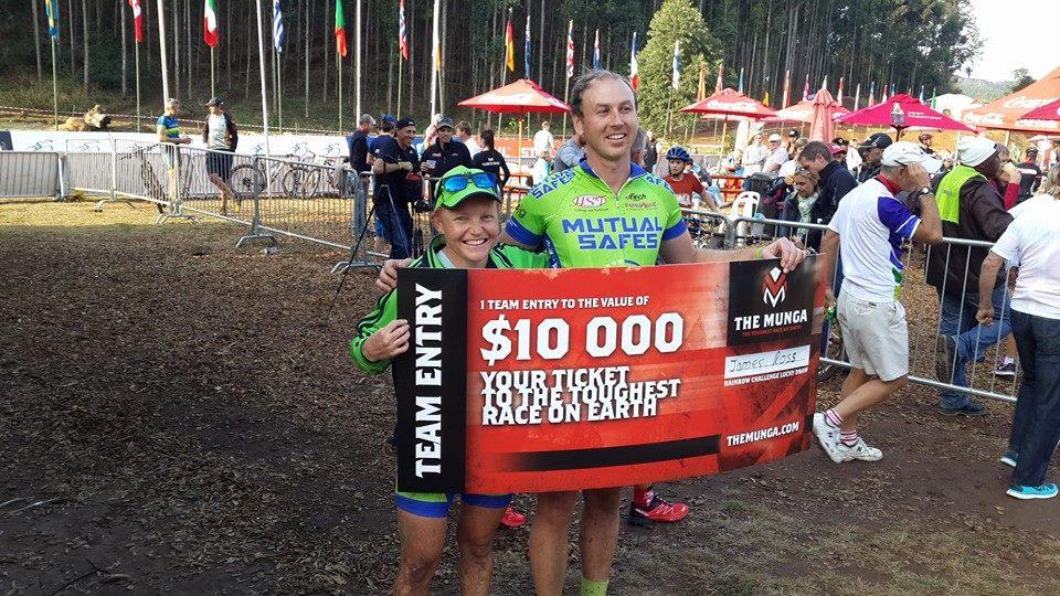 Turbo Mamba and winning the Munga Team Entry