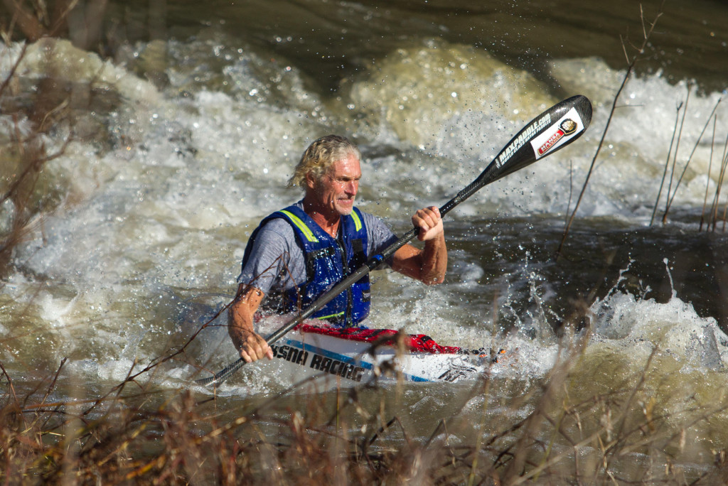 Grand master Lee McGregor aims to go even better than his 2013 eighth placed effort when he takes on this year's Berg River Canoe Marathon from 16-19 July. - John Hishin/ Gameplan Media