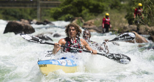 U23 Canoe Marathon World Champ Andy Birkett (EuroSteel/Kayak Centre) has joined his 2014 Dusi-winning partner Sbonelo Zondi on the rapidly growing list of elite stars set to tackle this year's Berg River Canoe Marathon from 16-19 July. - Anthony Grote/ Gameplan Media