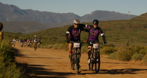 It's all about team work. Photo Credit: Greg Beadle and Johan Theron