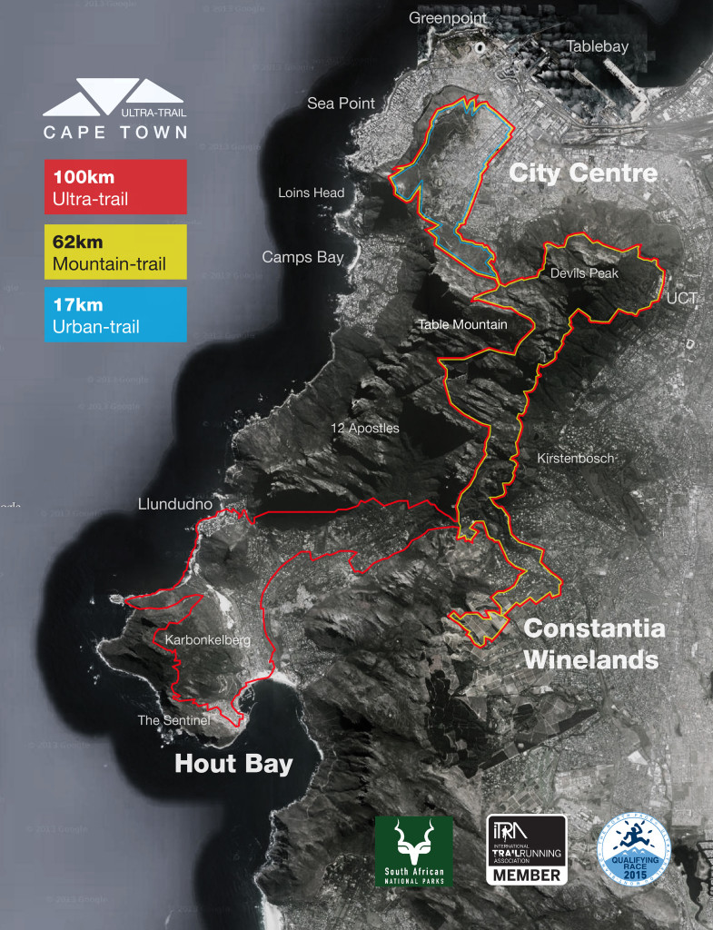 The endurance race will take place across Cape Town's iconic Table Mountain, and at 100km with 4200m elevation gain and a cut-off time of 15 hours it will be the most demanding race to happen in South Africa and one of the toughest in the world.