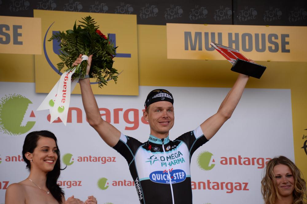 Tour de France 2014 - Etape 9 - Gerardmer / Mulhouse - 13/07/2014 - Tony MARTIN combatif du jour © ASO/X.Bourgois