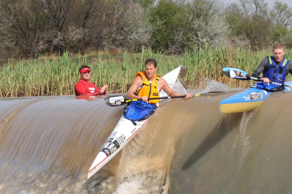 2012 winner Len Jenkins (left) seems unlikely to take to the start line of the 2014 Hansa Fish River Canoe Marathon that takes place in Cradock on 10 & 11 October after some time in the wilderness, opening the door for Hank McGregor (right) clinch his maiden K1 Hansa Fish title.