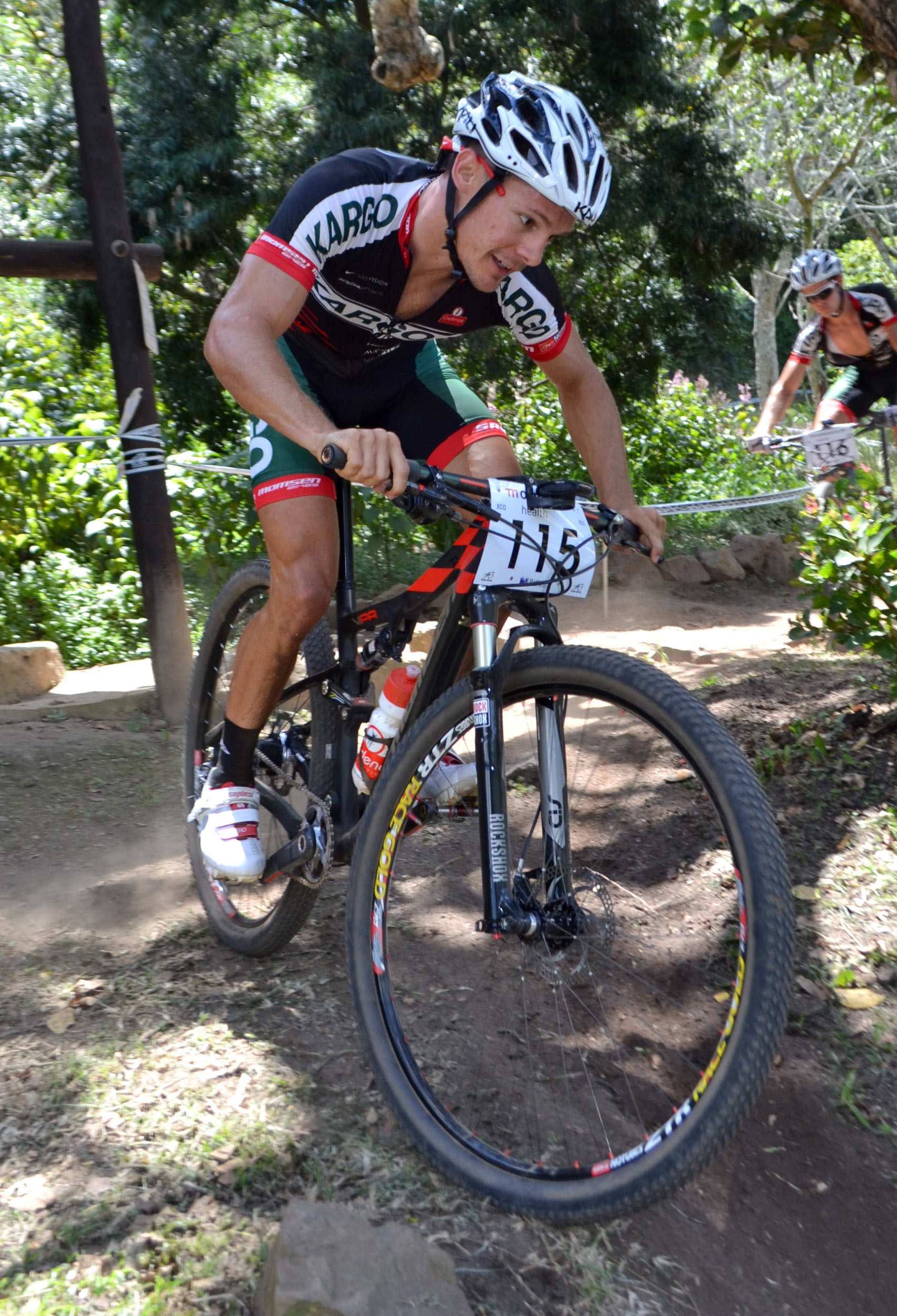 The recent Clover Lowveld Cycle Tour and the upcoming final leg of the 2014 UCI MTB World Cup in France will serve as Kargo Pro MTB Team's Rourke Croeser's final preparation before he tackles the 2014 UCI MTB & Trials World Championships in Norway. - Gavin Ryan/ Gameplan Media