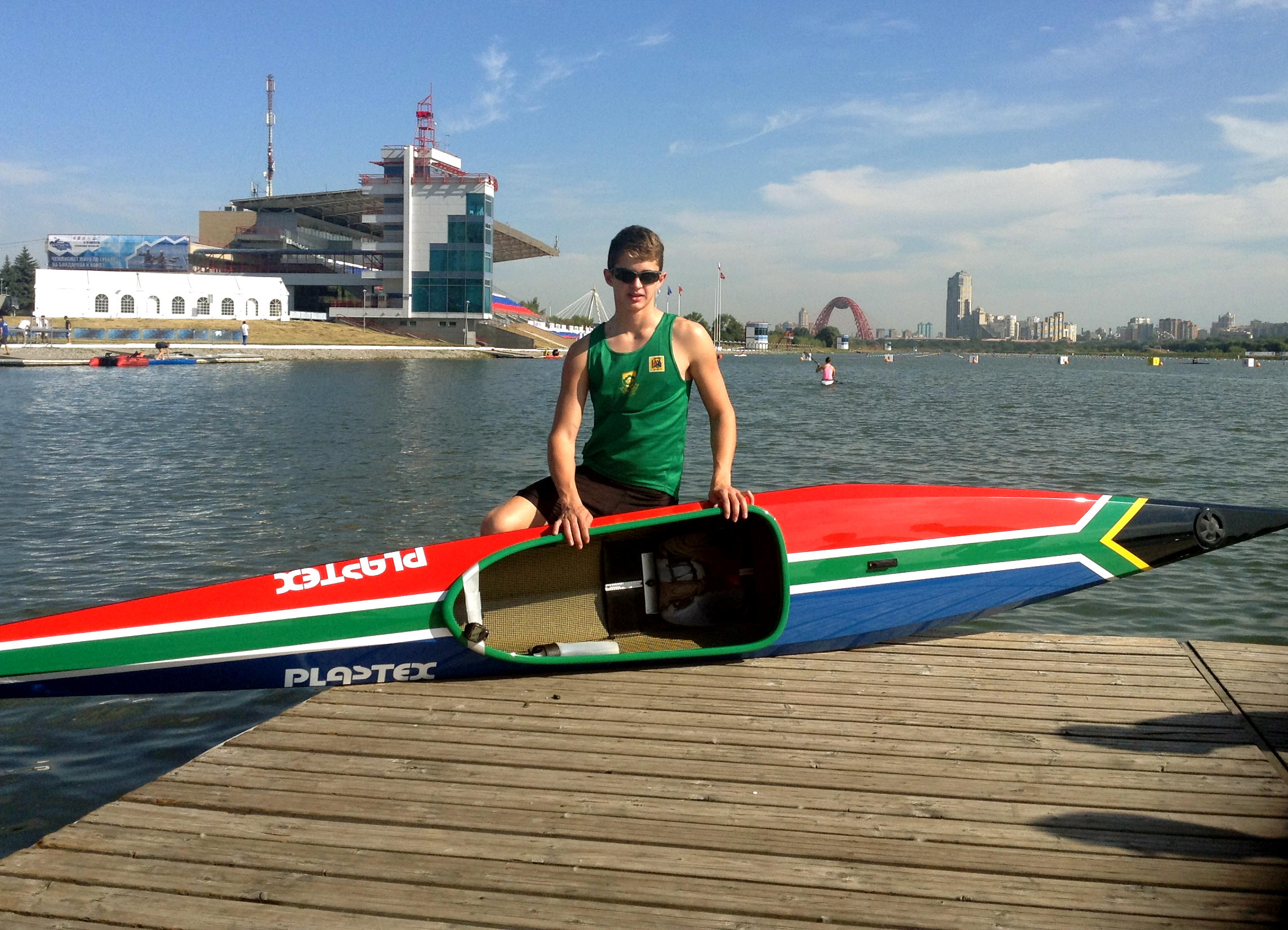 Para-canoeist Jono Wing will compete in the ICF Canoe Sprint World Championships in Moscow, Russia this week as part of his build-up towards the Olympic Games in Rio de Janeiro in 2016. - Supplied/ Gameplan Media