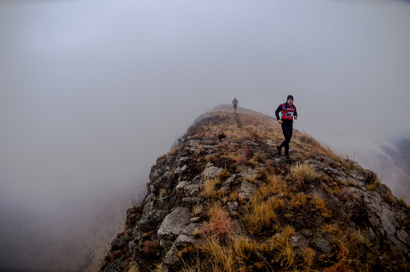 Runners during the 4 Peaks Mountain Challenge presented by Salomon - Kolesky/Nikon/Lexar