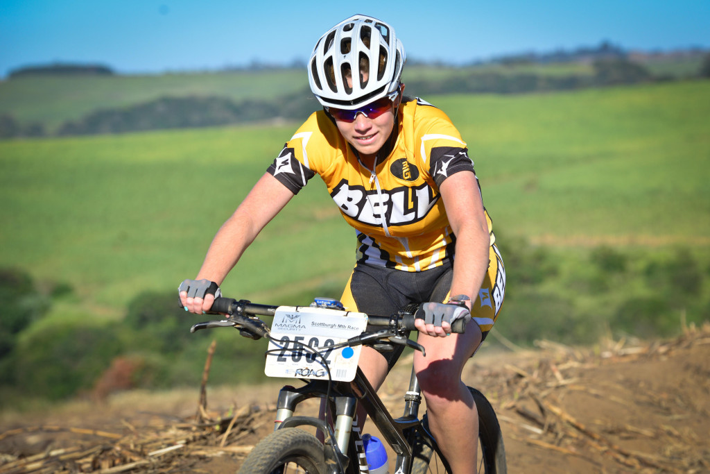 Defending women's champion at the Scottburgh MTB Race presented by Sappi, Hayley Smith (Bell Equipment), has her sights firmly set on defending her title when she sets off from the coastal town on Sunday, 31 August. - Darren Goddard/ Gameplan Media