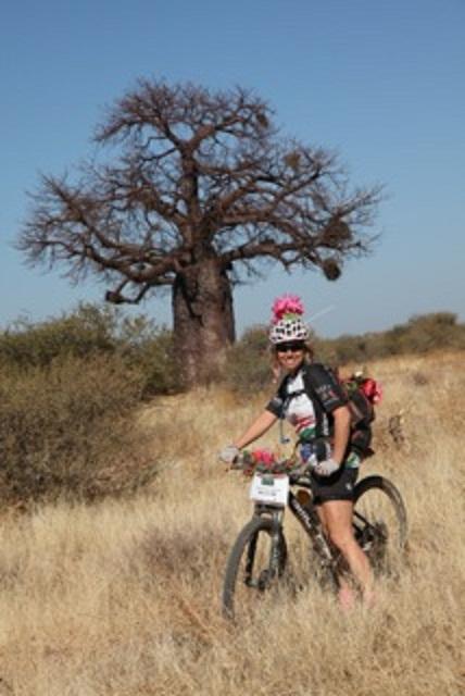 Enjoying the bushveld