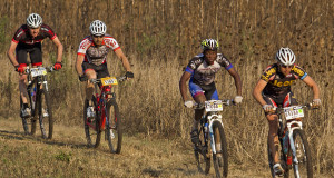 Endurance, heat and dust were just some of the elements Sipho Khupiso and his RMB Change a Life MTB Academy teammates had to overcome during the recent Sunday Tribune Jeep Hill2Hill MTB ultra-marathon. - Jon Ivins/ joninvins.com