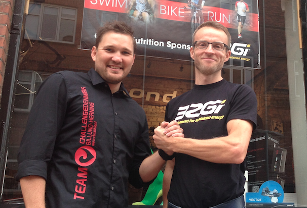Challenge Denmark and 32Gi today announced that the leading sports nutrition provider 32Gi has been selected as the official nutrition sponsor for Challenge Denmark in 2015