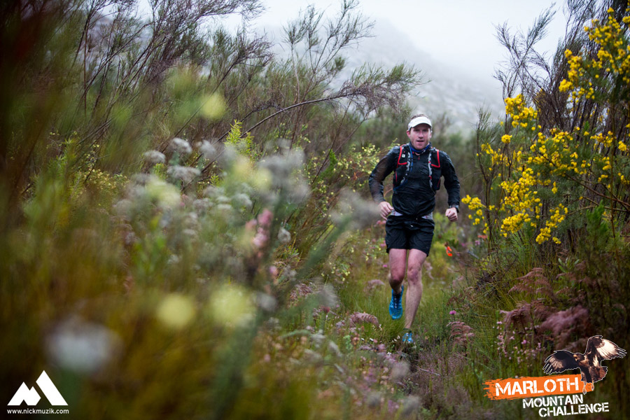 Dom Wills on his way to winning the Marloth Mountain Challenge. Image by Nick Muzik