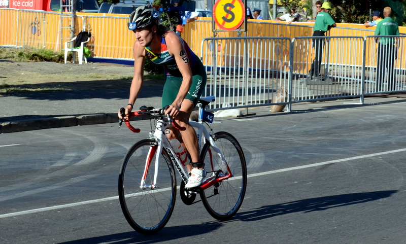 Elite triathlete Lauren Dance has signed with the Bestmed-ASG women's professional cycling team for the 2015 season. Photo: Supplied