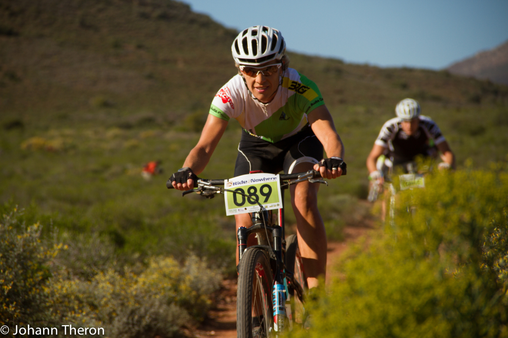 Marleen Lourens in action during the Ride2Nowhere 2014