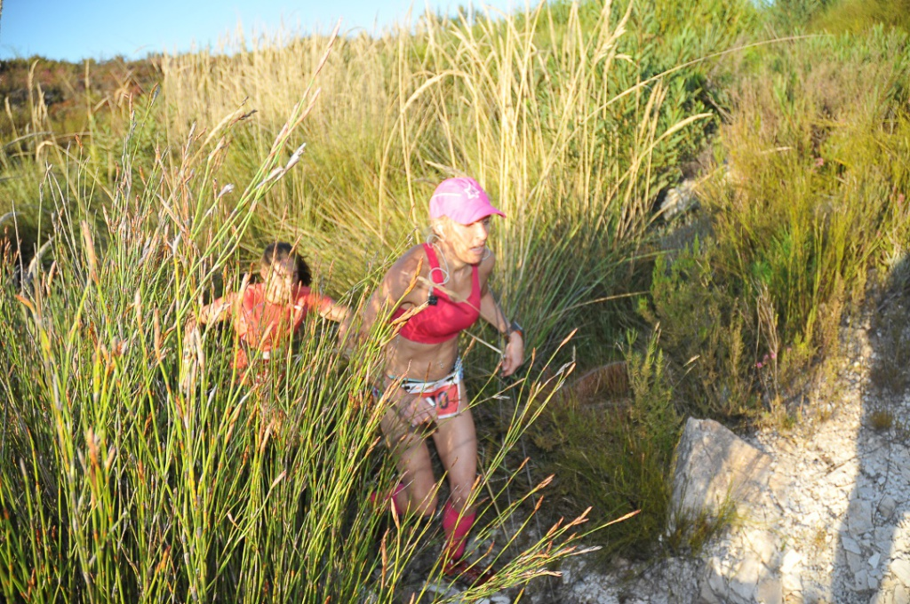 The PUMA Trail Run presented by ISUZU incorporates the XTERRA trail run routes and will take place in Grabouw (Western Cape) on Saturday, 21 February 2015.  Photo Credit:  Cherie Vale / NEWSPORT MEDIA