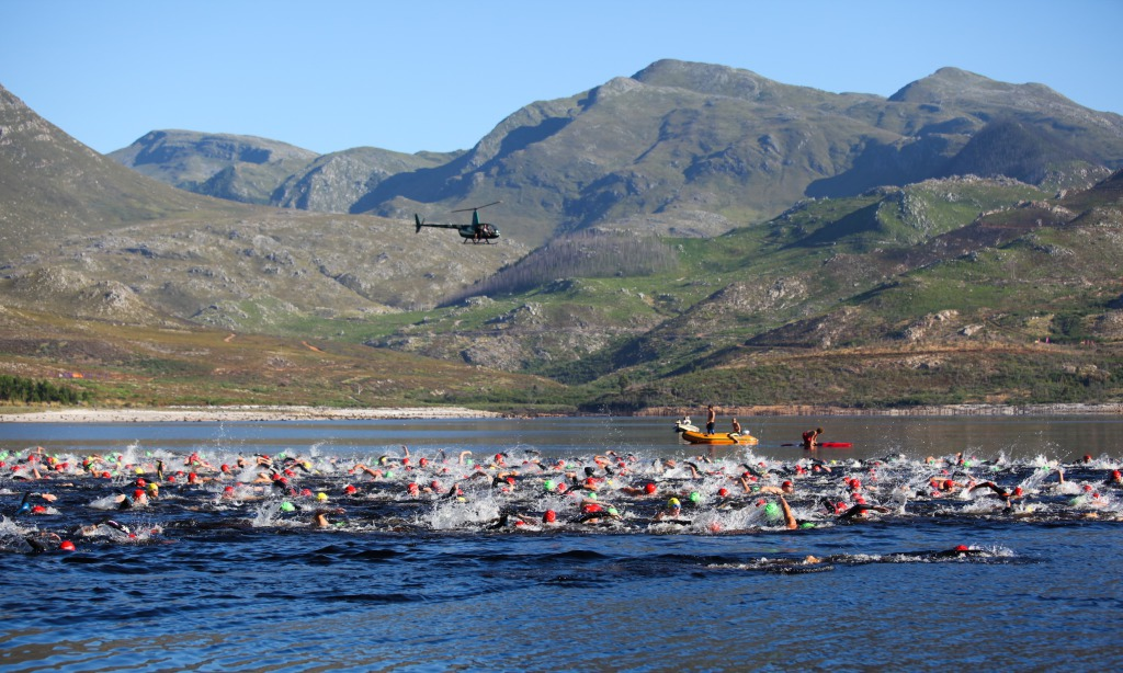 The Sanlam Cape Mile will debut at the Grabouw Country Club (Western Cape) on Saturday, 14 February 2015.  Entrants can choose between an exhilarating 1 mile and a refreshing 500m swim.  PHOTO CREDIT:  www.oakpics.com