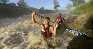 Elite athletes such as Damon Stamp and Mthobisi Cele can earn excellent prize money at the Umpetha Challenge that covers the first 16km of the Dusi Canoe Marathon Course, following the announcement of a 12,5% increase in the prize money pool. - Anthony Grote/ Gameplan Media