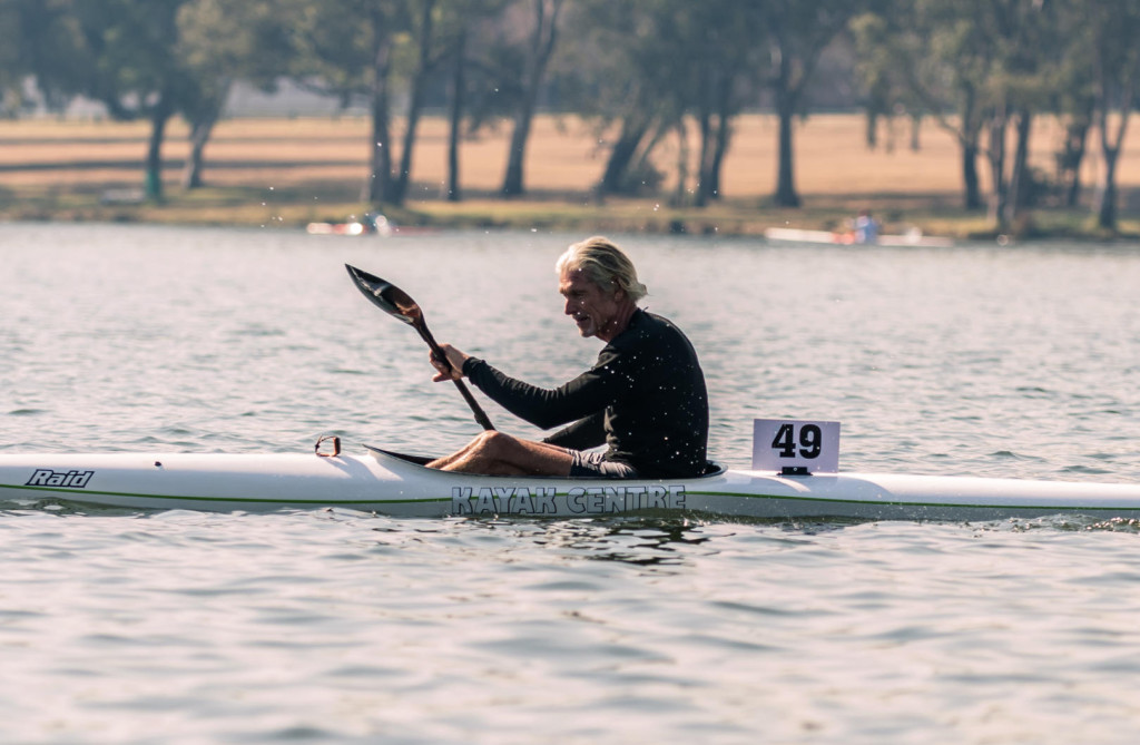 Durban masters paddler Lee McGregor won his third consecutive masters world title, racing in the 50-54 year age group.  - Terence Vrugtman/ Gameplan Media