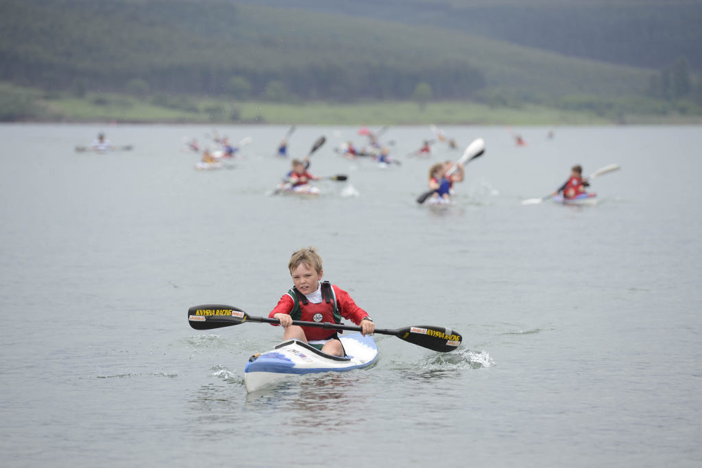 With the main race taking the centre stage the Ozzie Gladwin, presented by Parklane SuperSpar, will also offer young paddlers the chance to cut their paddling teeth during the ever popular guppy race starting at Albert Falls Dam  - Anthony Grote/ Gameplan Media