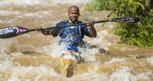 Computershare Change a Life Academy captain Lucas Mthalane produced a stellar race at the 2014 Umpetha Challenge, formally the NCC Development Race - Anthony Grote/ Gameplan media