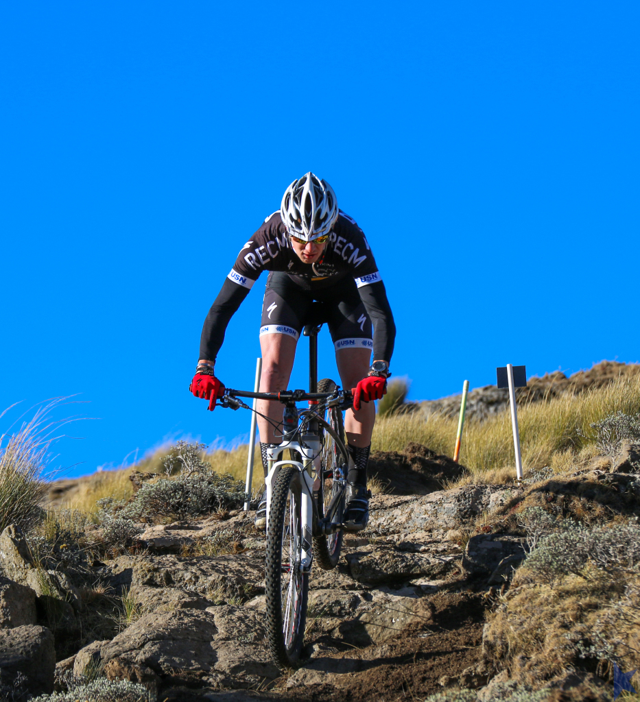 Jaco Ferreira in action at Afriski. Photo credit: Jason May | Location - Afriski. Kapoko Mountain Bike Park.