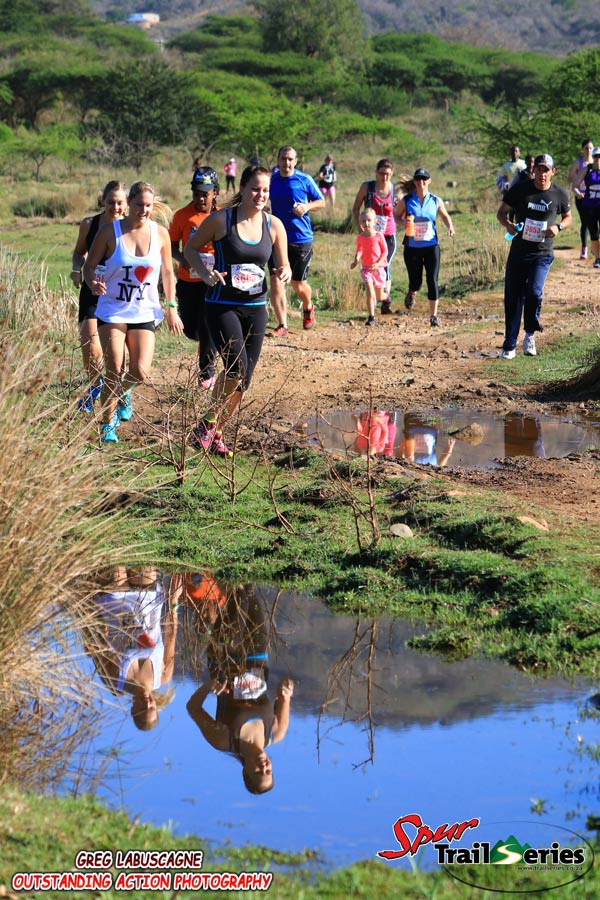 Runners at the final race of the Spur KZN Trail Series. Image by Greg Labuscagne