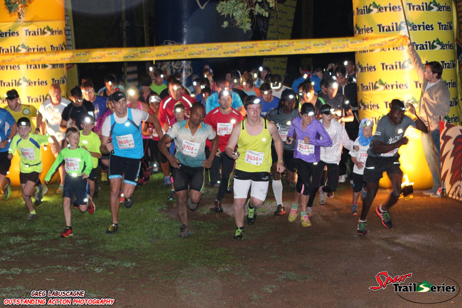 The start of the third race of the Spur KZN Trail Series™ at Giba Gorge. Image by Greg Labuscagne