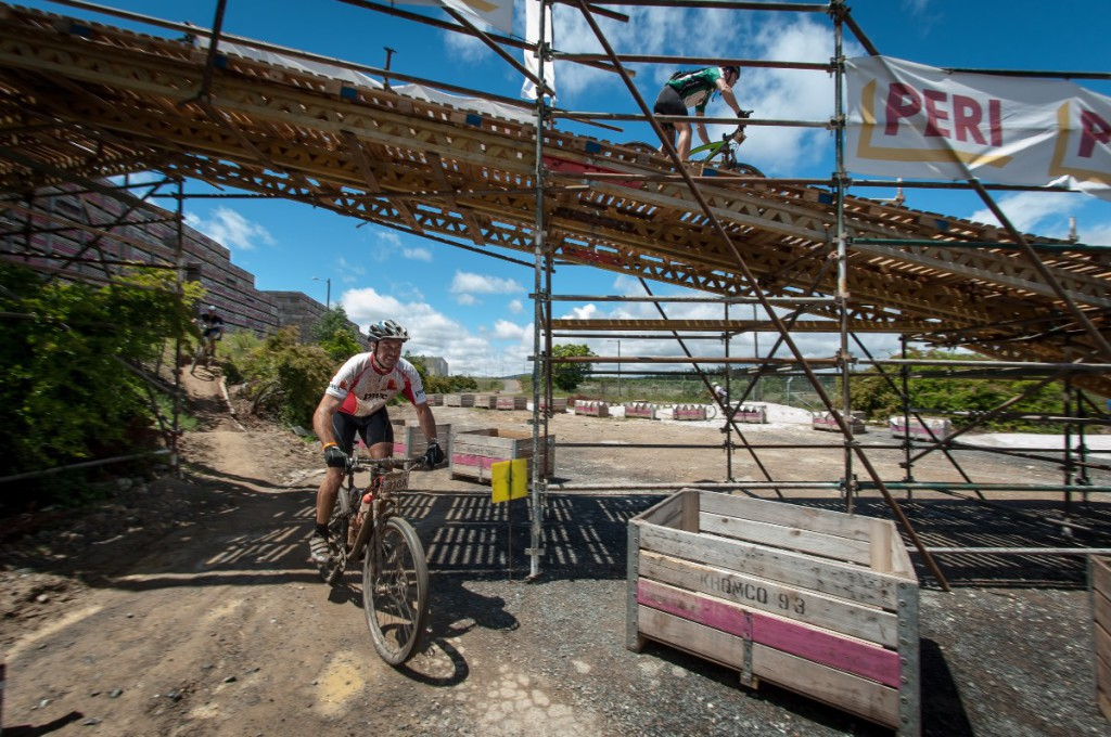 Seen here:  Lucas De Kock of Team Slowpokes in action at the Peri-Kromco Play Park during Stage Two of the FNB Wines2Whales MTB Ride on Tuesday, 04 November 2014.  Photo Credit:  Cherie Vale / NEWSPORT MEDIA