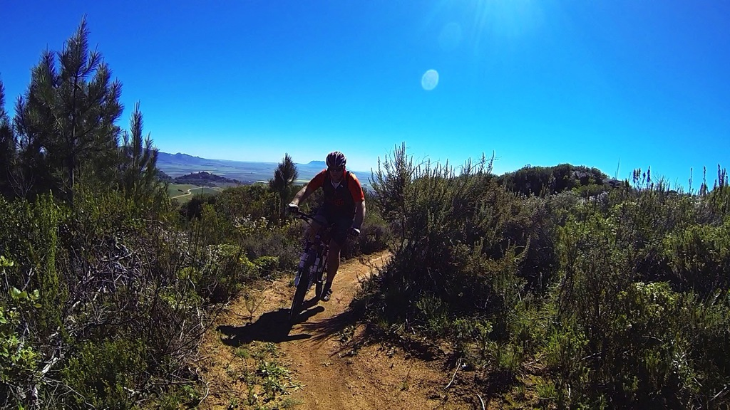 Participants in the inaugural Bestmed Paarl MTB Classic, presented by the City of Drakenstein, will enjoy riding the Rhebokskloof Estate single-track and the Paarl Mountain Nature Reserve on November 16. Photo: Louis Ferreira