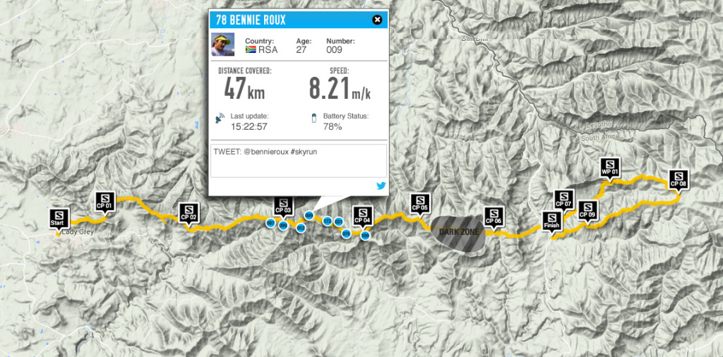 Live tracking for the first time ever at this extreme endurance event