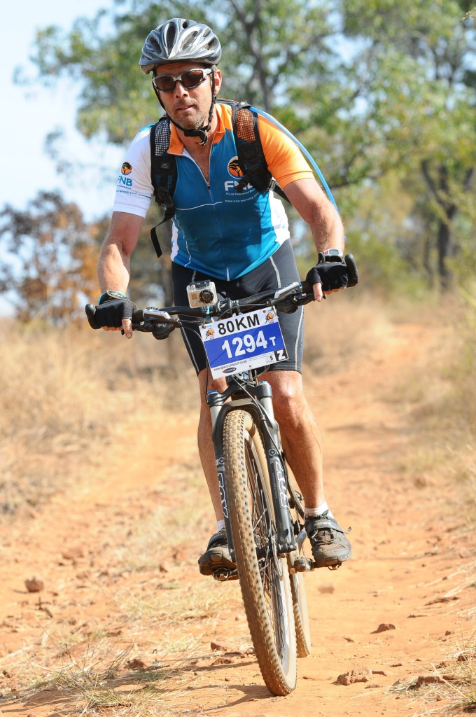 Seen here:  Participants in action at the 2014 FNB Magalies Monster Mountain Bike (MTB) Classic presented by ISUZU.  Photo Credit:  Jetline Action Photo