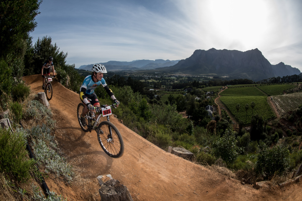 Seen here:  Participants in action during the 2014 Pennypinchers Origin Of Trails, two day mountain bike (MTB) stage race.  Photo Credit:  Cherie Vale / NEWSPORT MEDIA