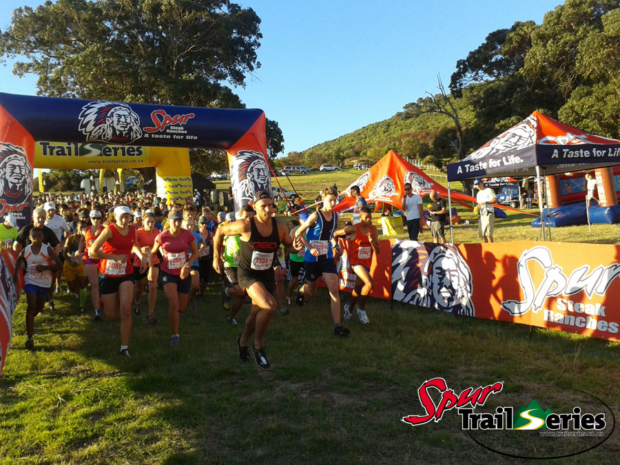 The start of the Spur Cape Summer Trail Series™ 2014