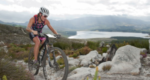 The Grabouw Country Club will be a hub of excitement this coming weekend when multi-sport athletes young and slightly more senior gather to partake in the largest XTERRA triathlon in the word, the TOTALSPORTS XTERRA Grabouw presented by REHIDRAT® SPORT.  Reigning Totalsports XTERRA SA Women's Champion and XTERRA World Champion Flora Duffy of Bermuda will attempt to successfully defend her title the weekend.  See here:  Duffy in action at the 2014 event.  Photo Credit:  Cherie Vale / NEWSPORT MEDIA