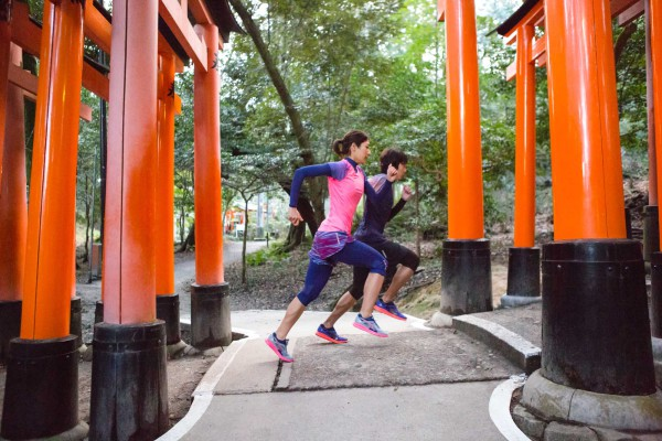 As part of this epic running series featuring the all-new PUMA IGNITE, Japanese runners marked the first stop with Tokyo.  Five runners ran five, 5-kilometer races in five cities.  To demonstrate the maximum energy return and durability of PUMA IGNITE, they did it all in 24 hours.
