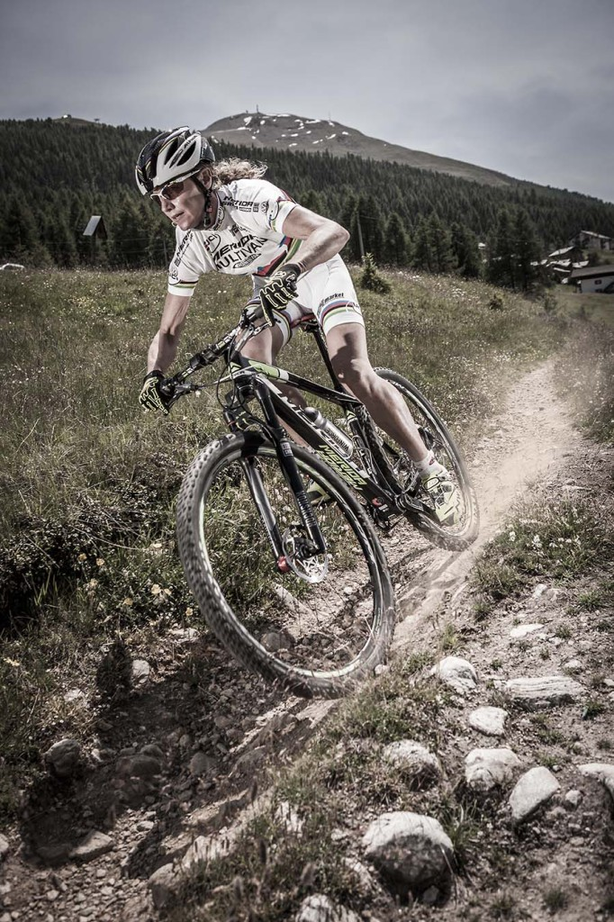 She might be the world's most-decorated women's mountain biker, but Norway's Gunn-Rita Dahle Flesjå is playing down her chances of a win in her debut Absa Cape Epic. - Multivan Merida Website