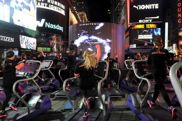 Runners Harness Energy in Times Square to Launch New PUMA IGNITE Running Shoe