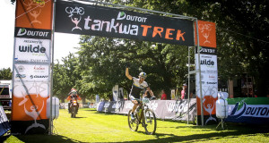 Stefan Sahm (Team Bulls) won the second stage of the DUTOIT Tankwa  - Photo www.oakpics.com