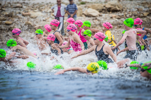 Seen here:  Junior XTERRA Warriors in action on the day.  Photo Credit:  Volume Photography