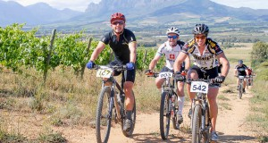 The picturesque wine-growing region around Paarl, Wellington, Stellenbosch and Franschhoek will be the site of the inaugural Liberty Cape Winelands MTB Encounter. This three-day, 175km race starts in Stellenbosch on April 17. Photo: Jetline Action Photo