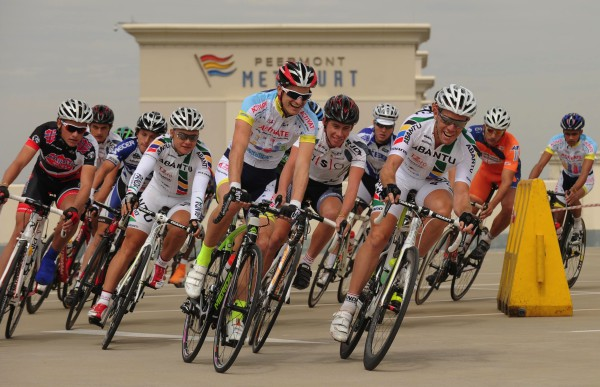 South Africa's top pro cyclists will take part in a high-speed battle in the 30-minute Circuit Spectacular following the road race at the Emperors Palace Classic on Sunday, April 12. Photo: Peter Morey