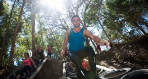 Participants in action during the IMPI Challenge Cape Town in 2014.  Photo Credit:  Cherie Vale / NEWSPORT MEDIA
