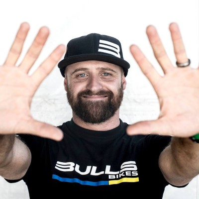 Vincent Durand - Team Bulls' soigneur, their helper, and one of six people working behind the scenes to give the Bulls' Karl Platt and teammate Urs Huber every opportunity to get their feet on the podium - FaceBook