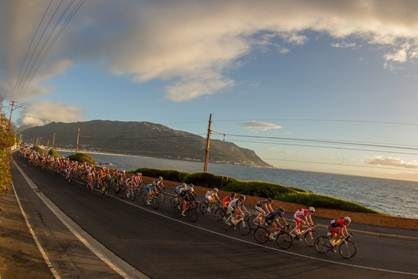 The main peliton during the Cape Town Cycle Tour - Photo Supplied