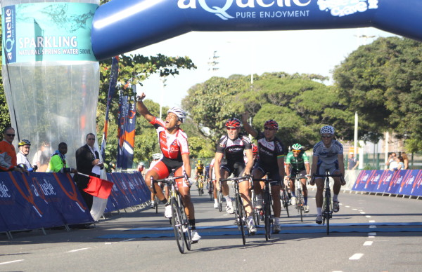 Event organisers are hoping to have another top class field at the 2015 55km Cyclo-Cross event at the aQuellé Tour Durban presented by Sunday Tribune when the event gets underway at the iconic Moses Mabhida Stadium on Sunday 26 April.  - Dave Macleod/ Gameplan Media
