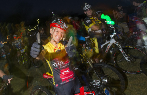 Kim Westbrook gives the popular Sappi Karkloof Classic MTB Festival, the country's biggest MTB festival, the thumbs up ahead of the 2015 edition taking place at Karkloof Country Club from 8-10 May. - Anthony Grote/ Gameplan Media