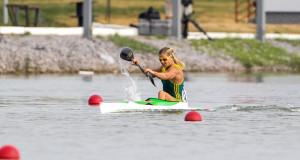 2014 Sprint World Champs bronze medallist Bridgitte Hartley will lead the charge at the upcoming South African Sprint Championships being held at the Roodeplaat Dam in Johannesburg over the Easter Weekend from 3-5 April.  - Balint Vekassy/ Gameplan Media