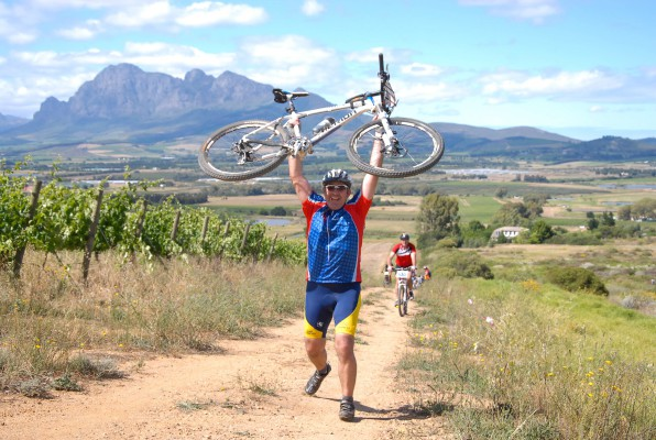 CAPTION: Mountain bikers will delight in an exclusive five-star experience when they take on the inaugural Liberty Cape Winelands MTB Encounter in the Boland from April 17 to 19. Photo: Jetline Action Photo