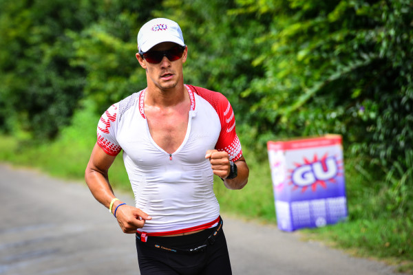 Gerhard De Bruin, who is one of the favorites to win the inaugural Sun City Ultra Triathlon