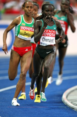 Vivian Cheruiyot in action - PACE Sports Management