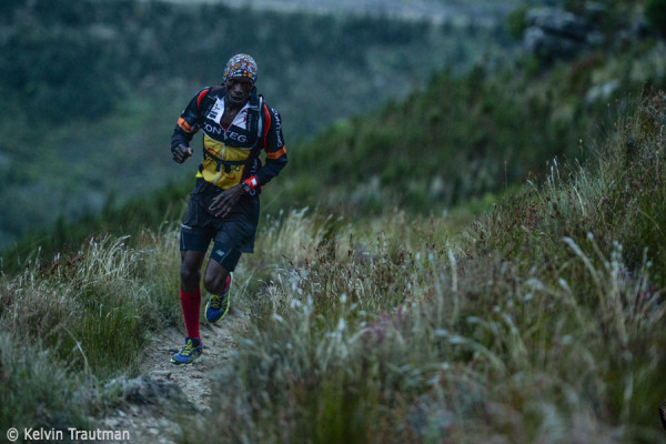 Bernard Rukadza will be leading the charge at the Jonkershoek Mountain Challenge (JMC) on 3 May. Image by Kelvin Trautman
